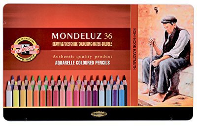 Hemus Mark Koh-i-Noor Mondeluz Aquarellstifte Set