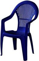 IPAE-ProGarden Loreta Stapelsessel (Kunststoff) blau