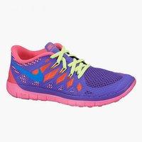Nike Free 5.0 2014 GS Girls hyper grape/hyper pink/volt/photo blue