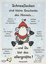 sheepworld Adventskalender Schneeflocke