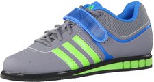 Adidas Powerlift 2 grey/neon green/solar blue