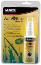 Relags McNett AntiBite Moskitoschutz Bio Formel mit Zeckenkarte (60 ml)