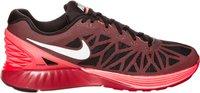 Nike Lunarglide+ 6 black/bright crimson/hot lava/white