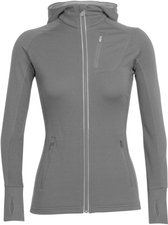 Icebreaker Quantum Long Sleeve Zip Hood Damen