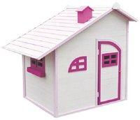 Sun Spielwaren Spielhaus aus Holz weiß / pink