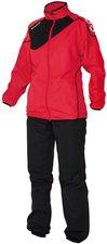 Stanno Damen Montreal Micro Taslan Anzug rot/schwarz