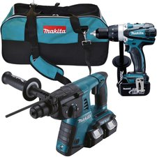 Makita DLX2082M Combo-Kit