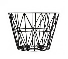 Ferm Living Wire Basket Medium Yellow