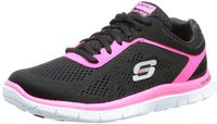 Skechers Flex Appeal Love Your Style black/hot pink