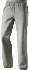 Nike Herren Trainingshose Club Cuff Pant Swoosh dark grey heather/white