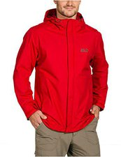 Jack Wolfskin Laconic Texapore Jacket Men Red Fire