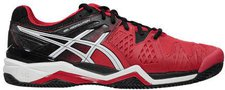Asics Gel-Resolution 6 Clay fiery red/black/white