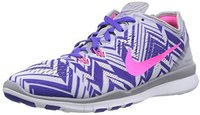 Nike Free TR 5 PRT Wmn wolf grey/pink pow/persian violet/white