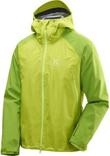 Haglöfs Roc Spirit Jacket Men Glow Green/ Lime Green