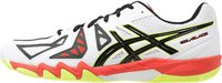Asics Gel-Blade 5 white/black/cherry tomato
