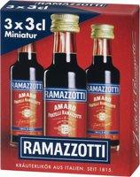 Ramazzotti Amaro 3 x 0,03l 30%