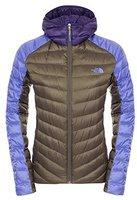 The North Face Women's Tonnero Hoodie Jacket New Taupe Green/ Starry Purple/ Garnet Purple