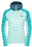 The North Face Women's Tonnero Hoodie Jacket Kokomo Green/ Surf Green