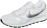 Nike Wmns MD Runner 2 white/metallic silver/fiberglass/pure platinum