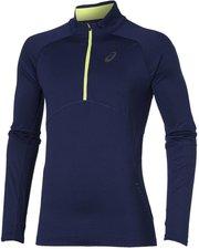 Asics Winter-Langarmshirt mit 1/2 Zip Herren indigo blue