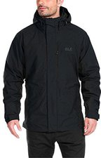Jack Wolfskin Brooks Range 3in1 JKT M Black