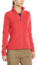 The North Face Women's 100 Glacier 1/4 Zip Fleece Pullover Melon Red