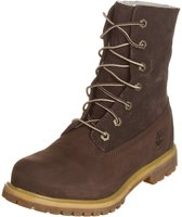 Timberland Women's Authentics Waterproof Fold-Down Boot (8314A) dark grey