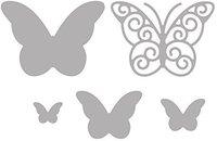 Rayher Stanzschablonen-Set Whimsical Butterflies
