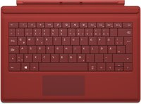 Microsoft Surface Pro 3 Type Cover (rot) DE