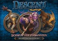Heidelberger Spieleverlag Descent 2. Edition: Schwur der Verbannten: Helden- und Monster-Set