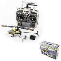 Monstertronic MT100FBL Singel Elektro Hubschrauber 3D RTF 2,4Ghz