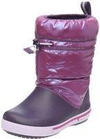 Crocs Kids Crocband Iridescent Gust Boot viola/mulberry