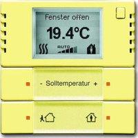 Busch-Jaeger Temperaturregler Heiz-/Kühlbetrieb KNX gelb