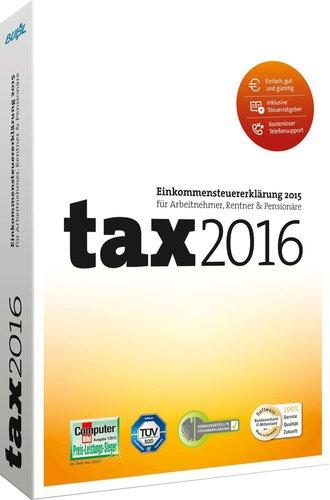 Buhl Data tax 2016 Standard
