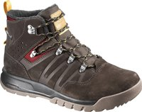 Salomon Utility TS CSWP Men trophy brown leather/absolute brown/sunny