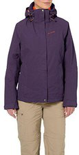 Vaude Women's Tolstadh 3in1 Jacket Elderberry