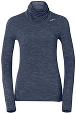 Odlo Revolution TW Warm Shirt L/S Turtle Neck Women navy new melange