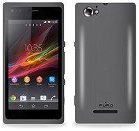 Puro Case schwarz (Sony Xperia M)