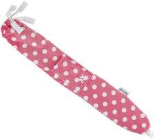 Yuyu Bottle Luxury Fleece - polka Dot pink