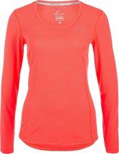 Nike Nike Dri-Fit Contour Damen Laufshirt hyper-orange