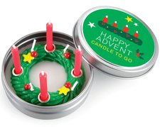 Donkey Products Happy Advent Kerze klein (220459)