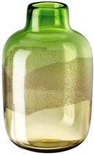 Rosenthal Scenery Farbglas grün-amber (32cm)