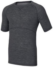 Odlo Revolution TW Warm Shirt s/s Men black melange