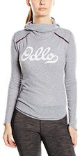 Odlo Vallée Blanche Warm Shirt l/s with Facemask Women grey melange
