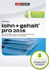 Lexware Lohn + Gehalt Pro 2016 (ESD)
