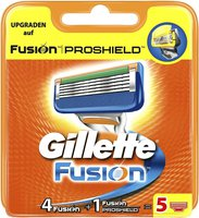 Gillette Fusion Systemklingen (5er)