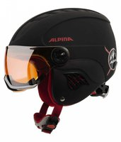 Alpina Eyewear Carat LE Visor HM black-red matt