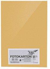Folia Tonpapier DIN A4 50 Blatt gold matt
