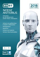 ESET NOD32 AntiVirus 2016 (1 User) (DE) (Win) (ESD)