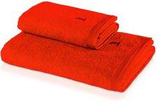 Möve Superwuschel Seiftuch red orange (30 x 30 cm)